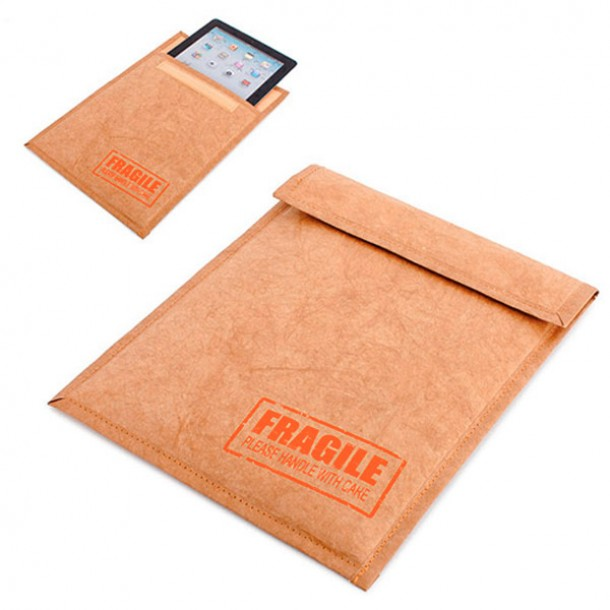 "Custodia iPad ""fragile"""