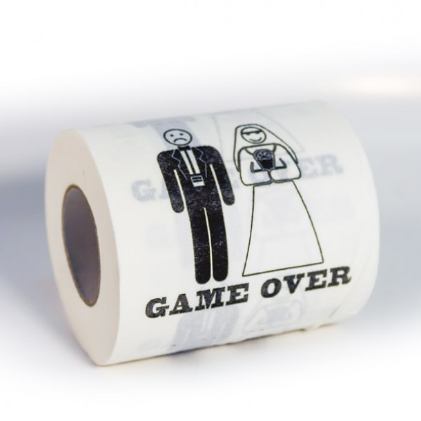 Carta igienica Game Over
